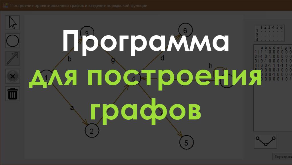 Программа для построения графов